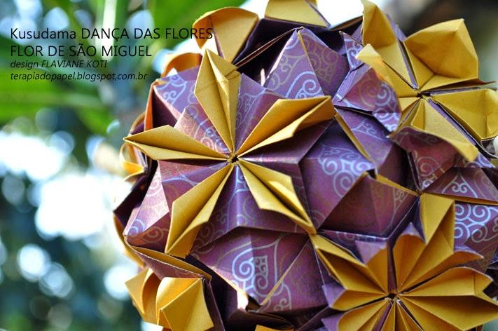 Kusudama Dan A Das Flores Design Flaviane Koti