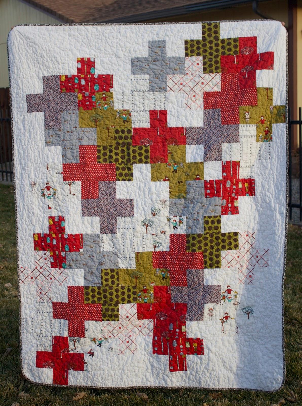 how to make a cascade quilt