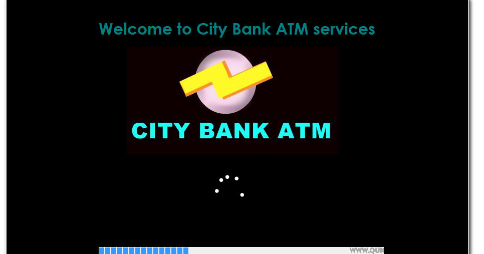 synopsis of atm project in java