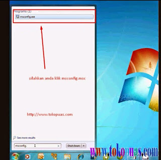 mempercepat loading windows 7