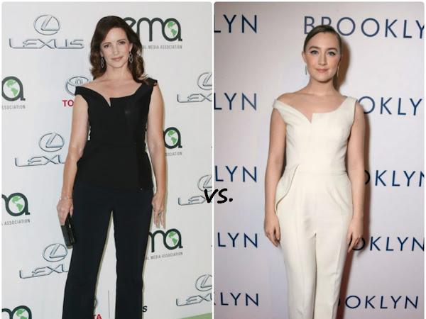 Kristin Davis vs Saoirse Ronan