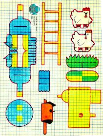 КУРИЦЫ. дом который построил джек веселые картинки (№9, 1987)
