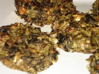 Traditional Greek Spinach Patty Recipe