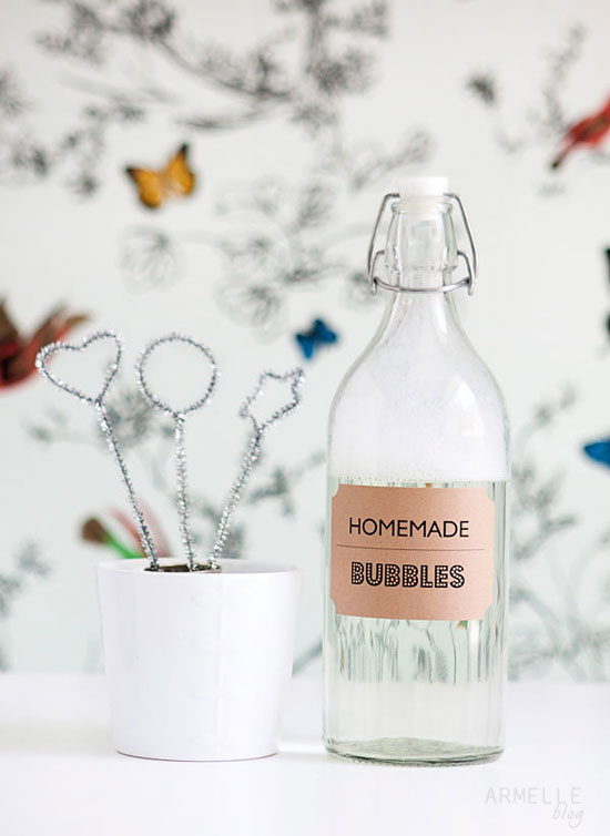 armelle blog how to make homemade bubble solution and On homemade bubble solution