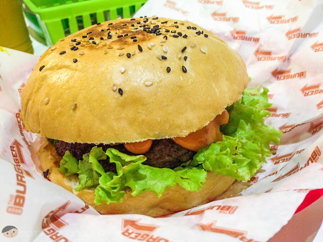 Pure Beef Burger with Special BRGR Sauce