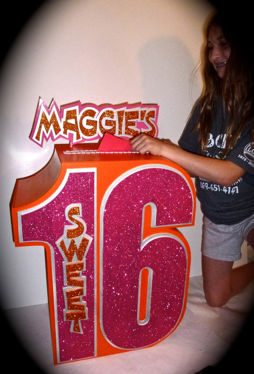 Musing with marlyss sweet 16 party ideas