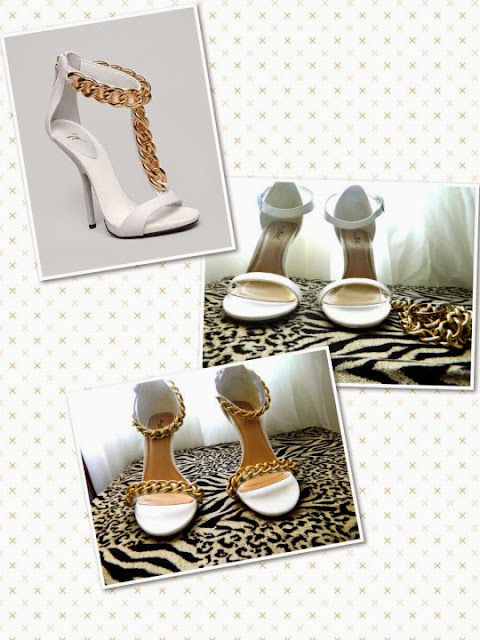 customizar sapatos com corrente passo a passo
