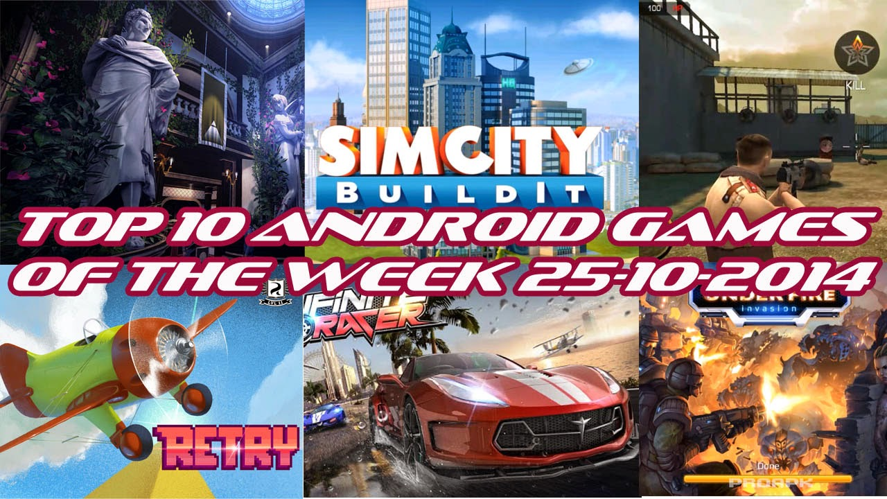 TOP 10 BEST NEW ANDROID GAMES OF THE WEEK - 25th October 2014