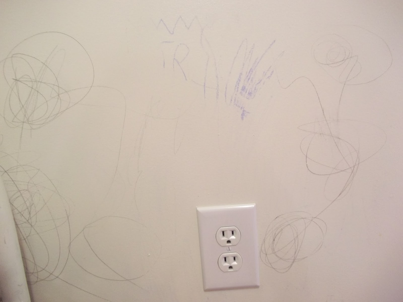 Tuesday tip crayon on walls home maid simple - Remove crayon walls ...