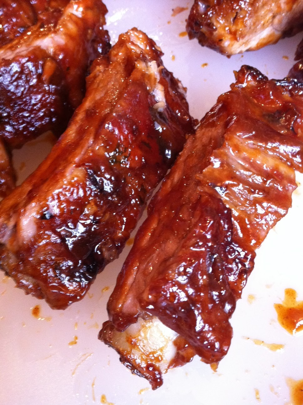 Savory Sweet Living: Oven-roasted Baby Back Ribs and Home Made ...