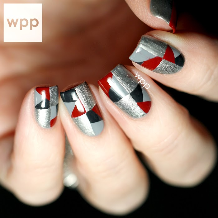 Fancy Quilted Nail Art Composition - Nail Art Ideas - morihati.com
