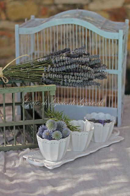 Vogelkäfig, Vogelkäfig Provence, Lavendel