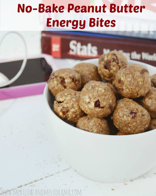 easy peanut butter balls made with oats dates and chocolate chips