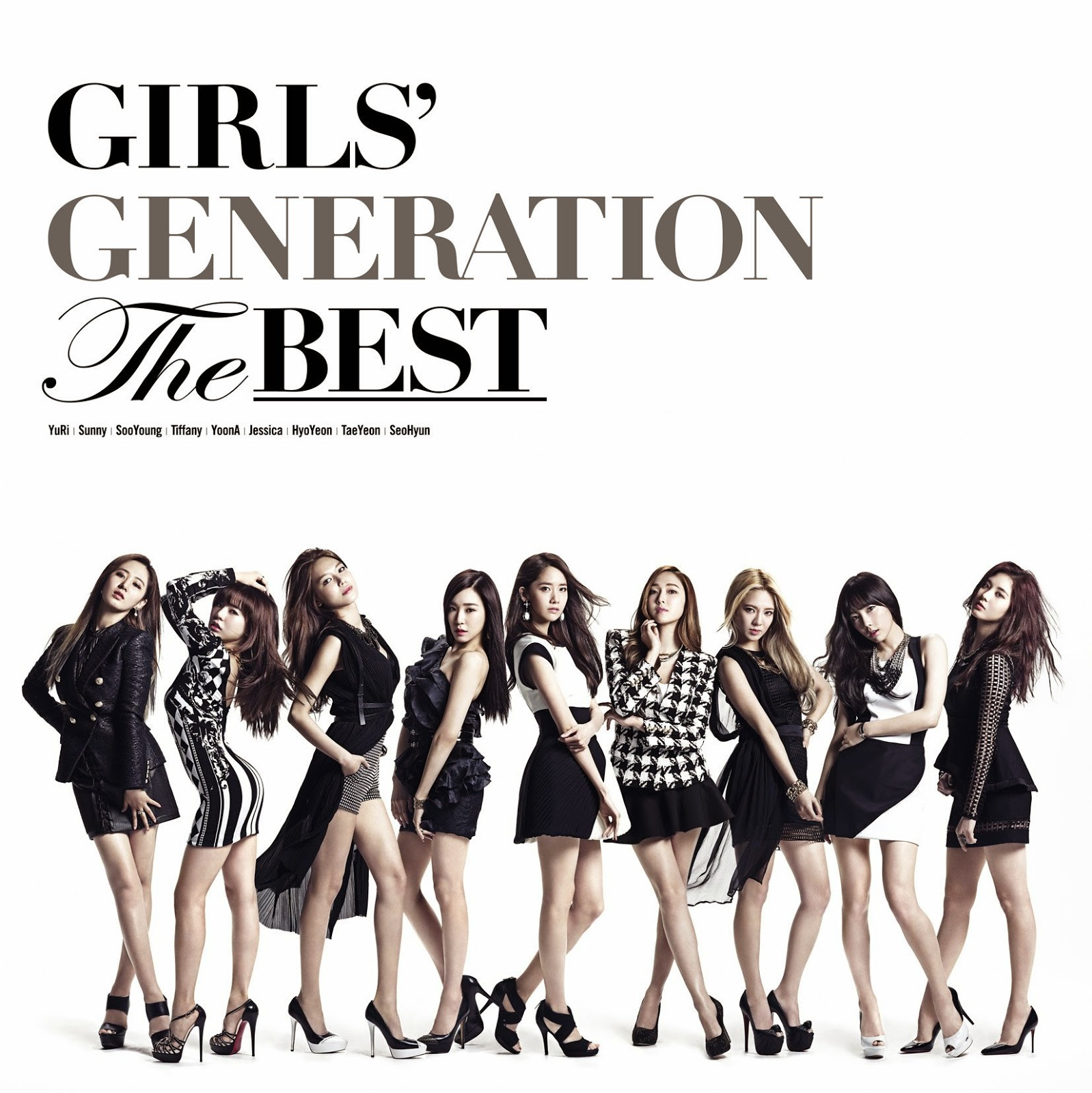 SNSD The Best Album Cover