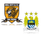 Hull City - Manchester City