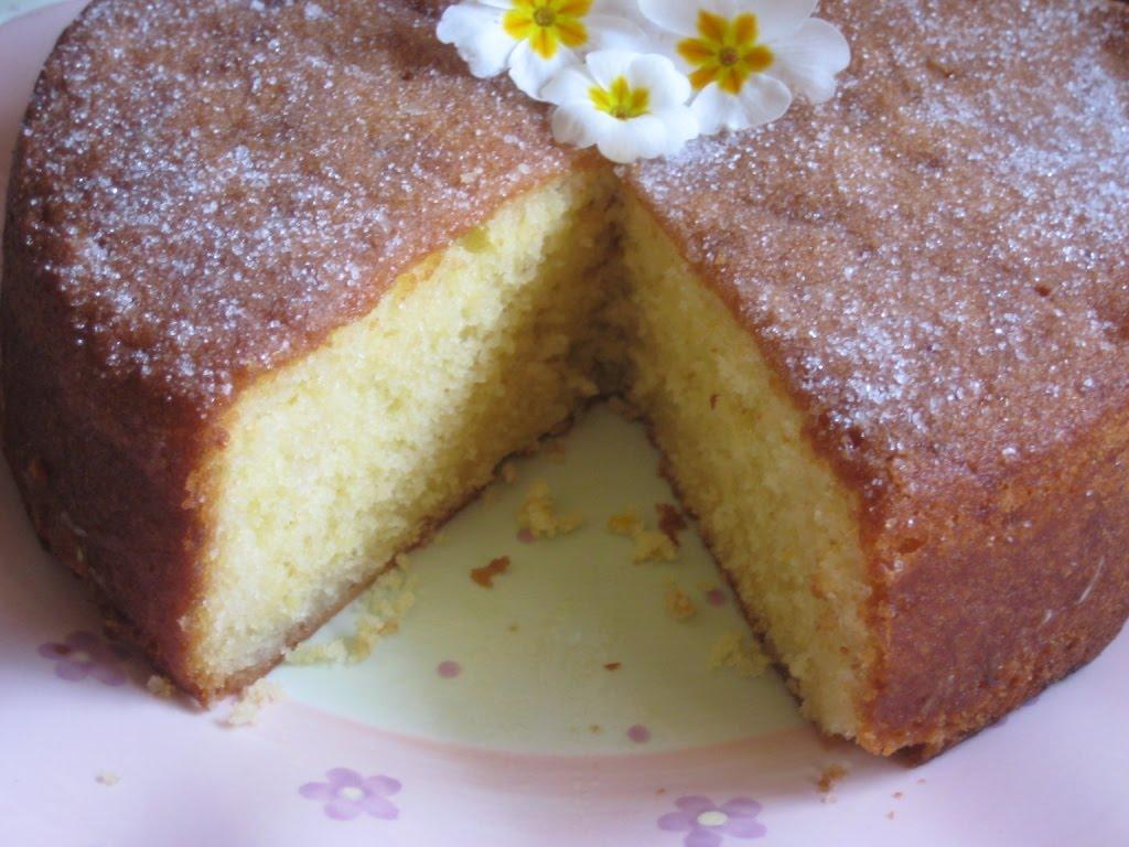 The Goddess s Kitchen ♥ Elderflower & Lemon Drizzle Cake