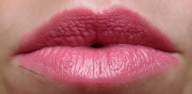 Obsessive Compulsive Cosmetics Lip Tar Memento, @girlythingsby_e, swatch