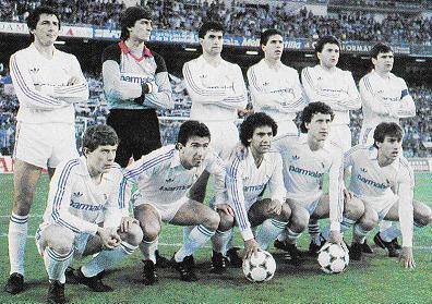 Resultado de imagem para real madrid 1986