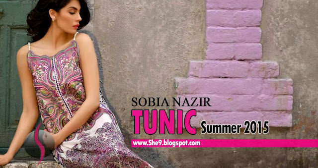 Sobia Nazir Eid Tunic Collection