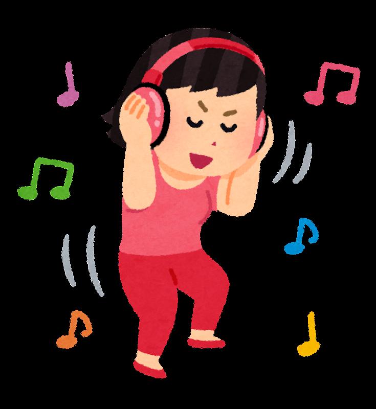 「音楽 聴く イラスト」の画像検索結果