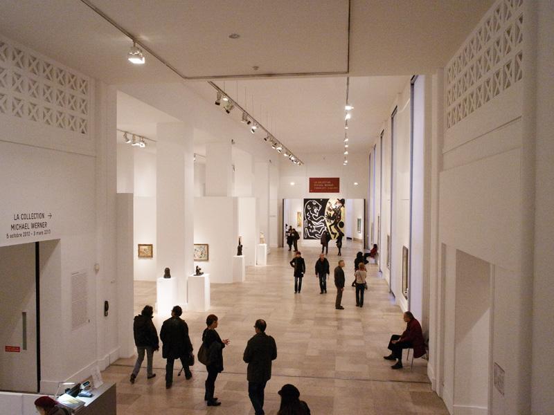 世界の美術館めぐり: パリ市立近...