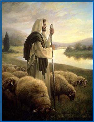 imágenes cristianas  de Jesús el pastor