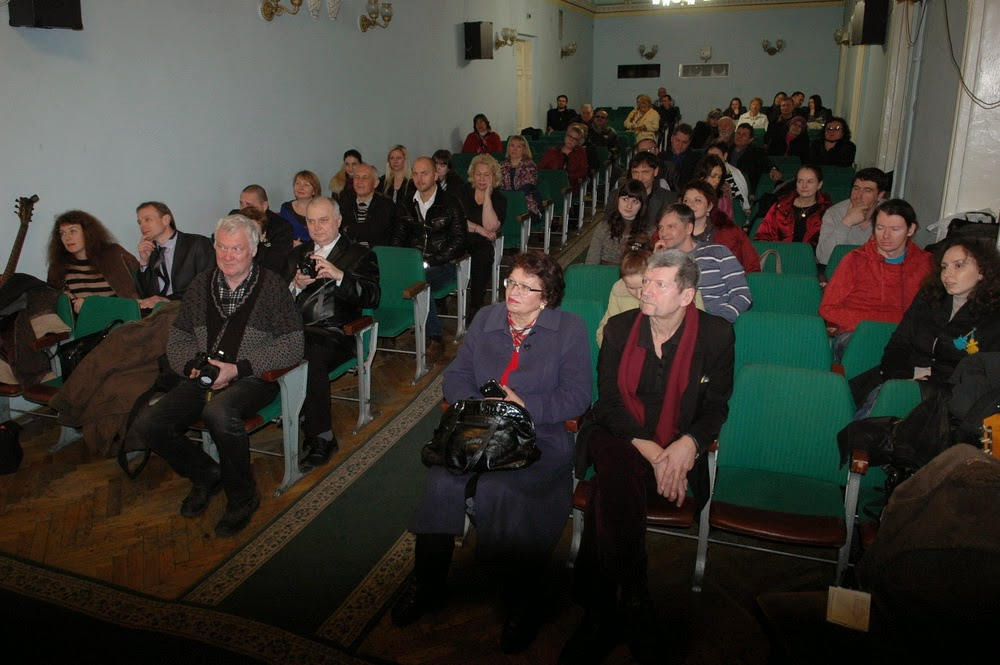 Фото Виталия Бабенко: в зале НСПУ