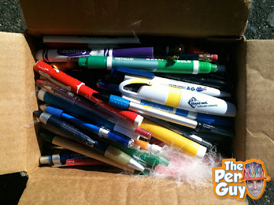 Recycled Pen Donation for the Pen Guy