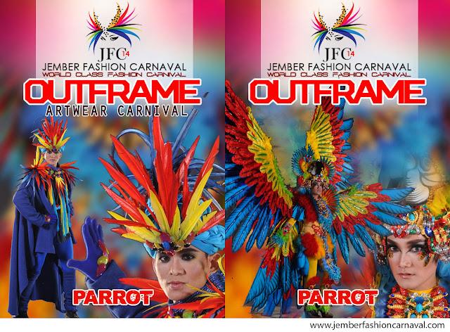 Jember Fashion Carnaval 2015 Defile Parrot