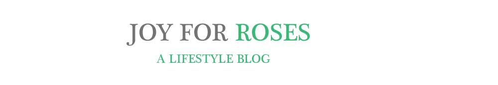 Joy For Roses
