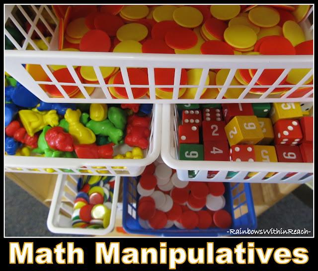 Math Manipulatives (Role of PLAY in Kindergarten at RainbowsWithinReach