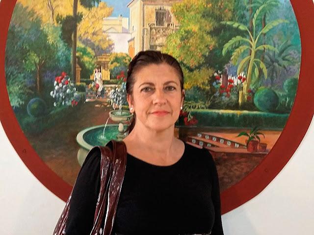 Isabel Camiña en la feria de Sevilla 2016