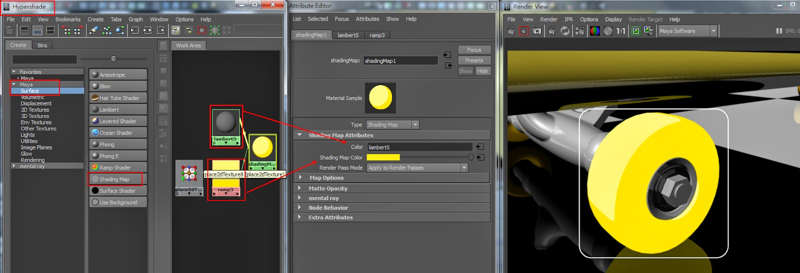 Basic Material Types in Maya 07