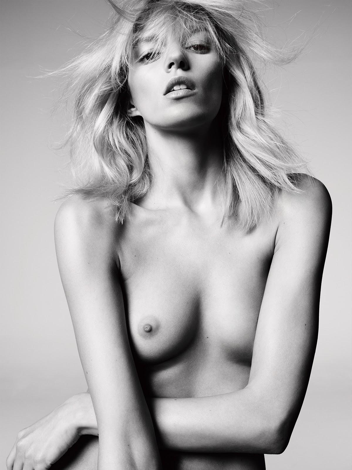 Anja Rubik breasts