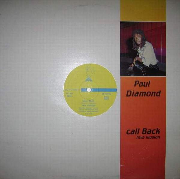 Paul Diamond - Call Back (Maxi 87)