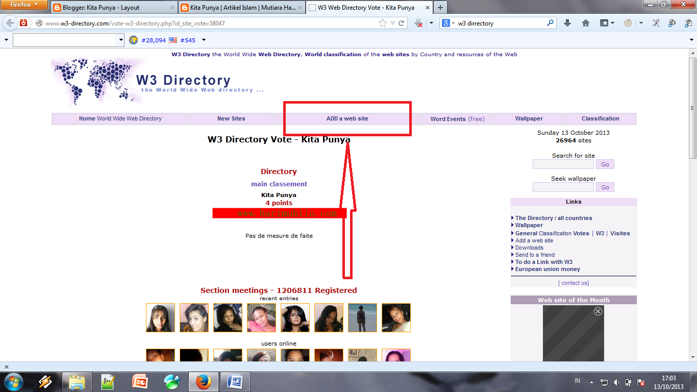 Situs W3 Directory
