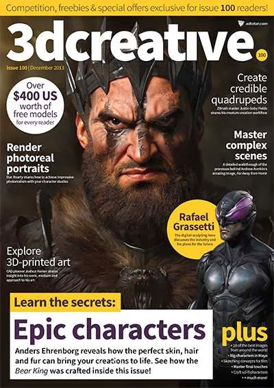 3D Creative Magazine Issue 100 December 2013