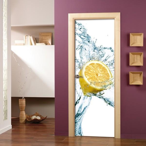 Papel pintado decoraci n de puertas for Restauracion de puertas antiguas