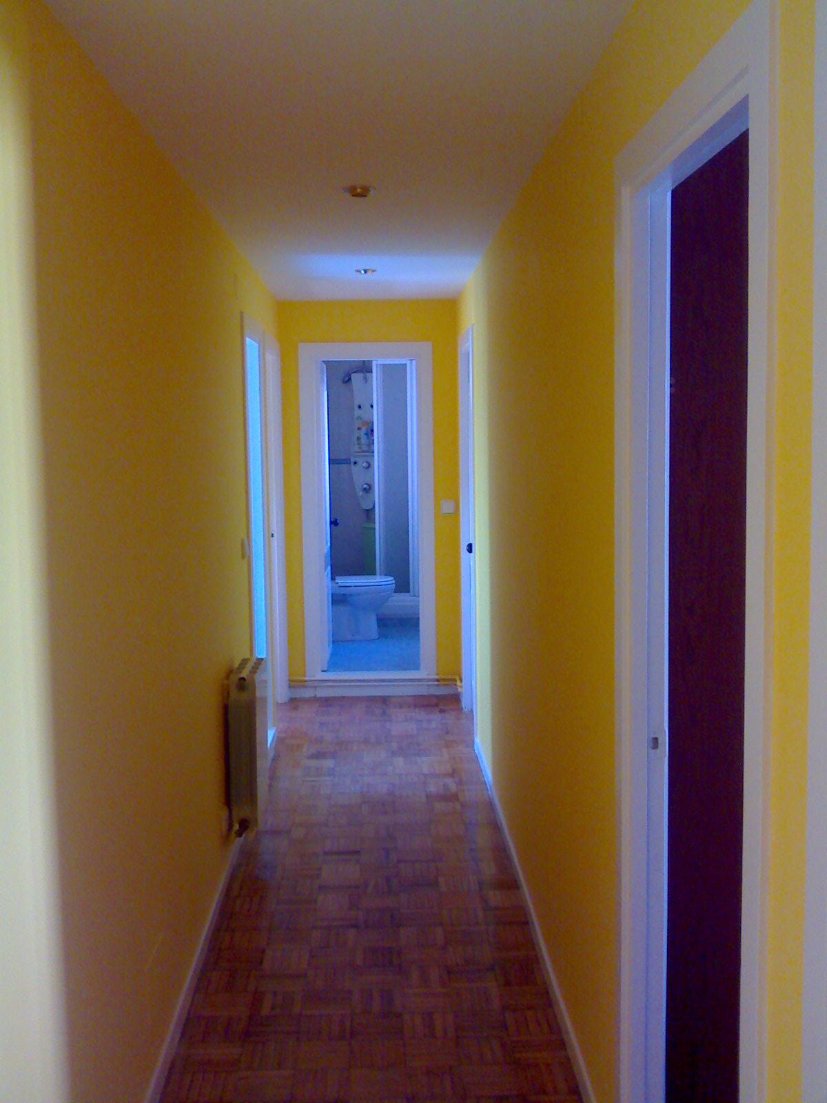 Gustavo mart n pintura jardines - Como pintar el pasillo ...