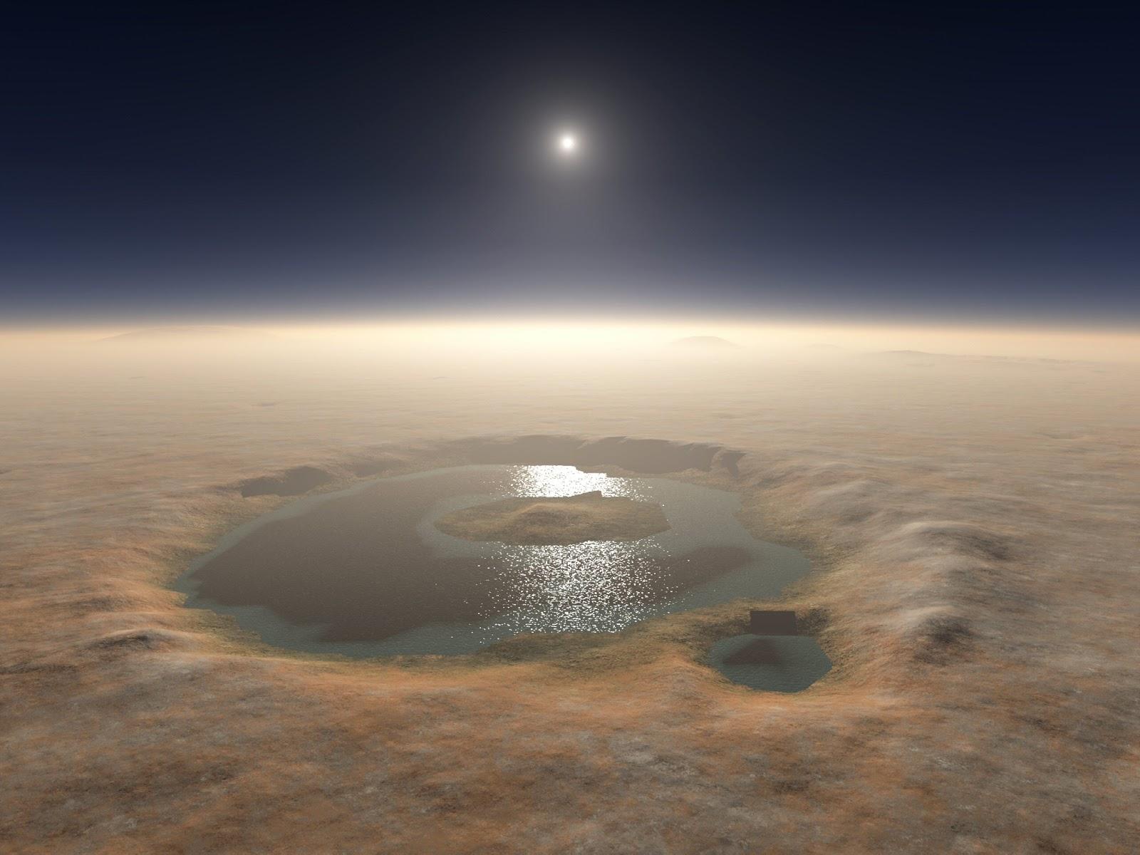 Mars has Flowing Water