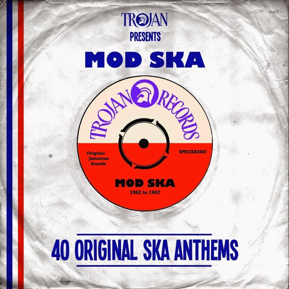 TROJAN PRESENTS MOD SKA - 40 Original Ska Anthems