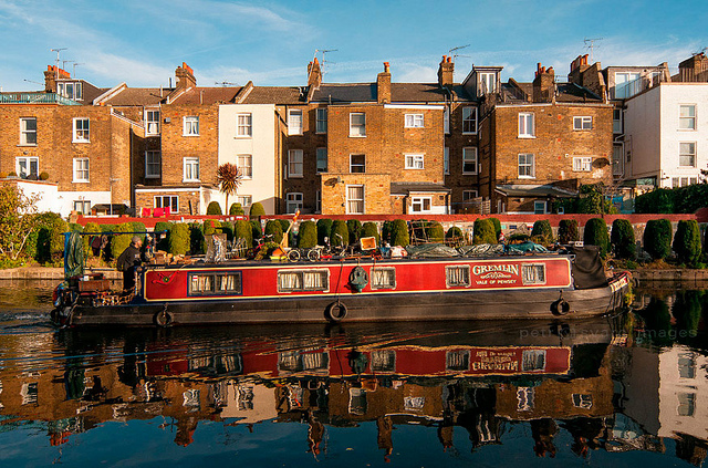 london theatre canal cafe
