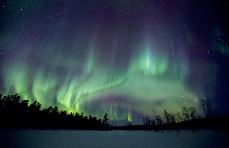 Abisko aurora borealis