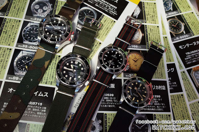 Vintage Rolex  Seiko Nato ของแท้ มีขายที่ WatchKzy.com
