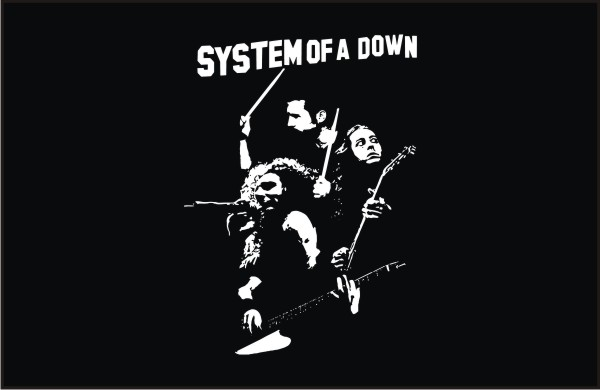 system_of_a_down-system_of_a_down_front_vector
