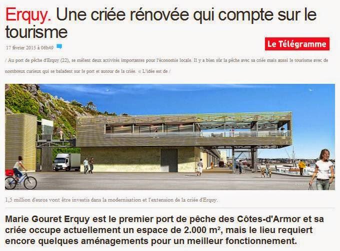 Actualit de la p che en france et en europe f vrier 2015 - Port de peche cote d armor ...