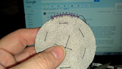 Beaded Picot Stitch