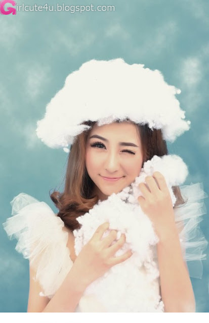 2 Fan Xuyue - Walk through the clouds-very cute asian girl-girlcute4u.blogspot.com