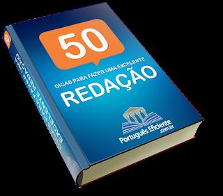 Ebook 50 Dicas Para Melhorar Sua Redação