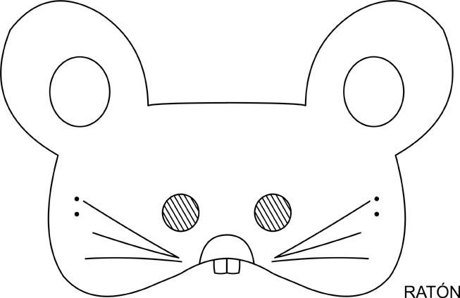 Mascaras de ratones en fomi - Imagui